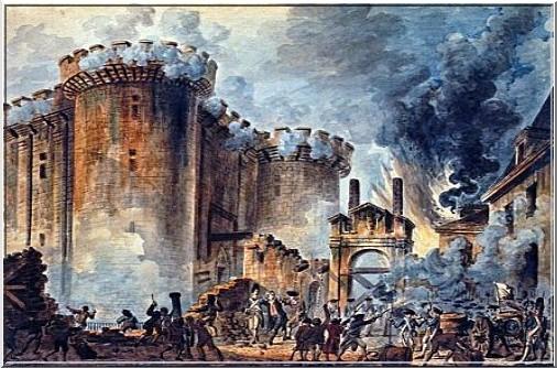 Prise de la bastille 14 Juillet