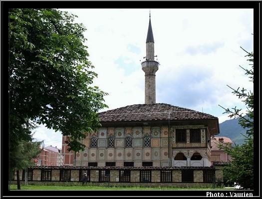 Tetovo mosquee peinte