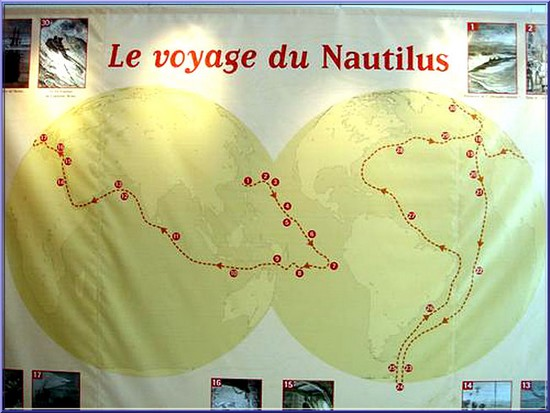 voyage du nautilus oceanopolis brest