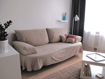 Location vacances Berlin Barbarossa - sofa