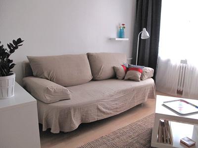 Location vacances Berlin Barbarossa - sofa