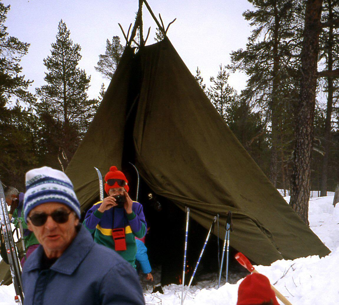 Bivouac Laponie tente