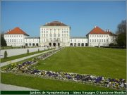 Chateau Nymphenburg parc jardins