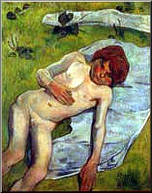 Gauguin gamin breton