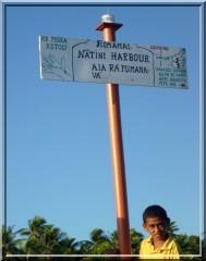 Ile de Nassau Natihi Harbour