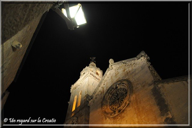Korcula cathedrale saint marc de facade