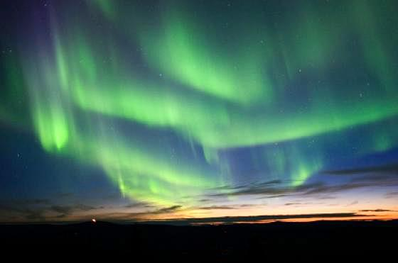 Laponie aurore boreale