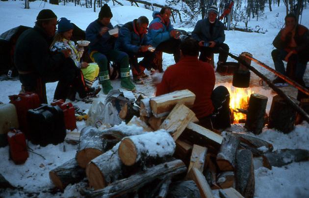 Laponie bivouac Finlande