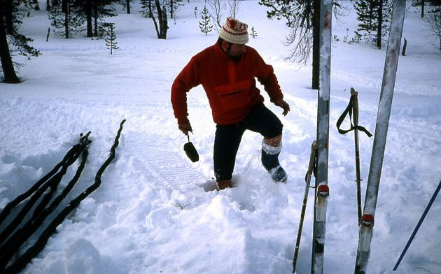 Ski Laponie Bivouac