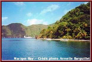 iles grenadines marigot bay