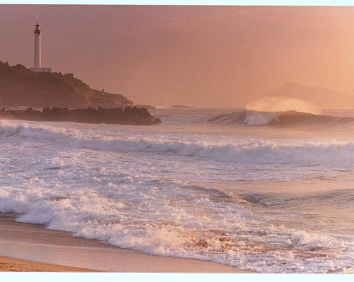 mer et phare