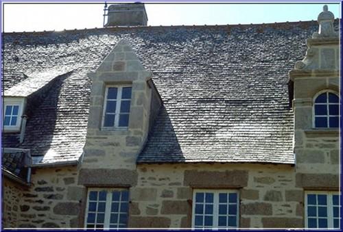 roscoff bretagne maison toit
