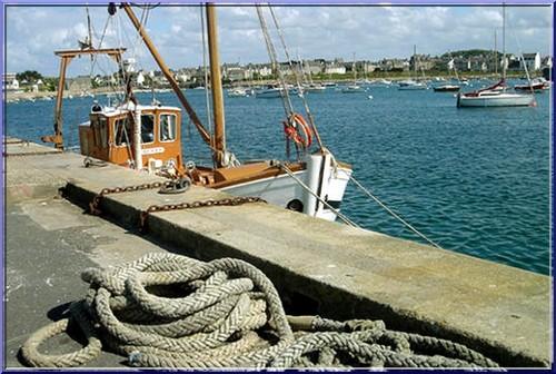 roscoff bretagne vieux port