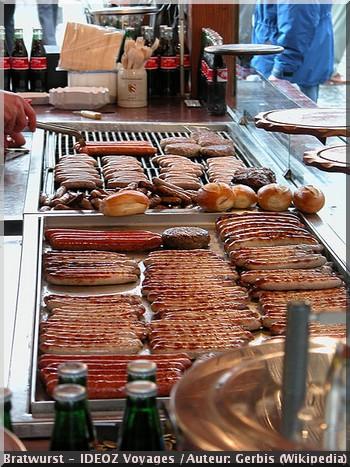 Bratwurst cuisine allemande