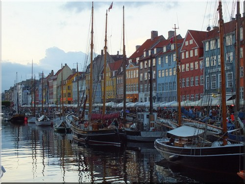 Copenhague Danemar - Nyhavn
