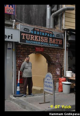 Hammam turc Gedikpasa entree