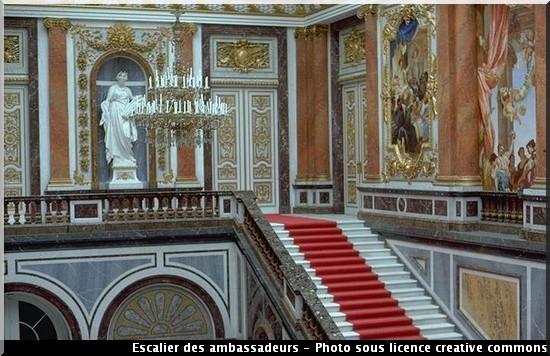 Herrenchiemsee escalier des ambassadeurs