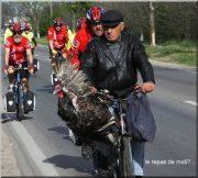 Paris pekin repas de midi des cyclistes