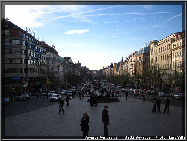 Prague Avenue Venceslas
