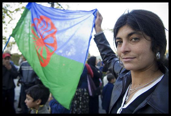 Roms et drapeau rom
