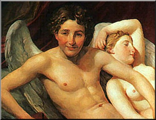 jacques louis david- amour et psyche
