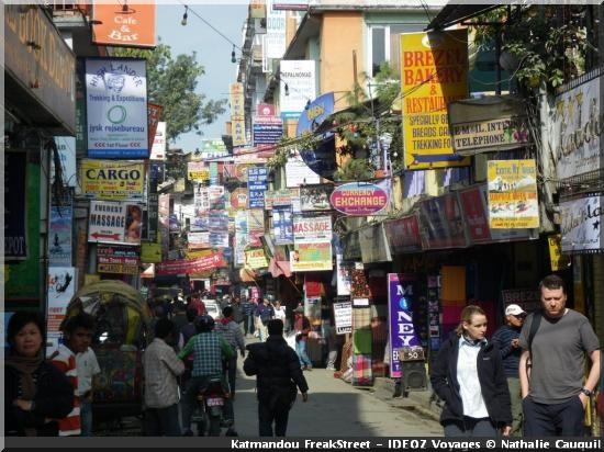 katmandou nepal freak street