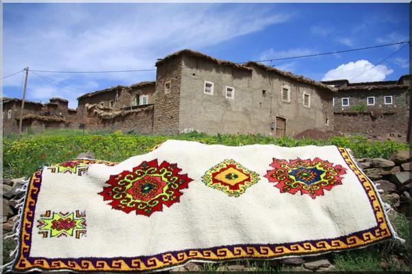 maroc tapis tradition berbère