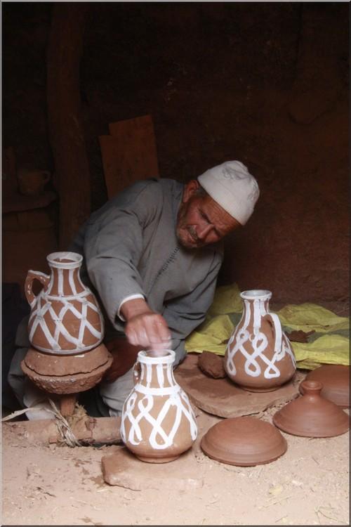 maroc tradition potier