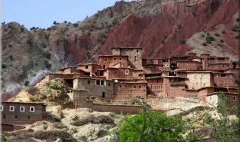 maroc village berbère coloré