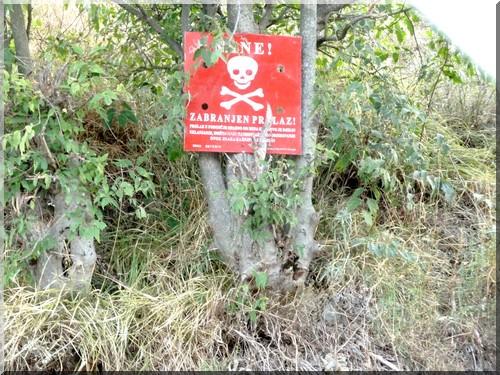 mine antipersonnel bosnie herzegovine