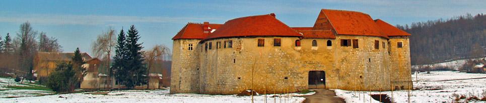 ribnik Chateau croatie