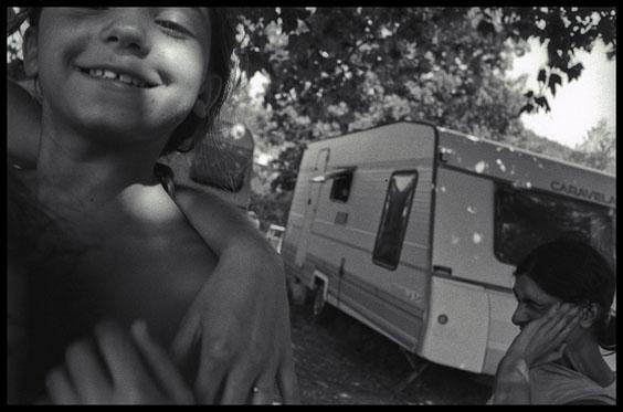 roms enfants et caravane