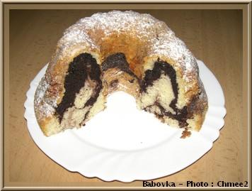 Bábovka dessert cuisine tcheque