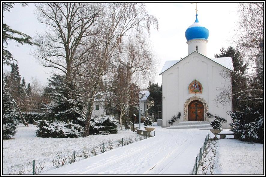 Eglise de notre dame de l'assomption sainte genevieve des bois