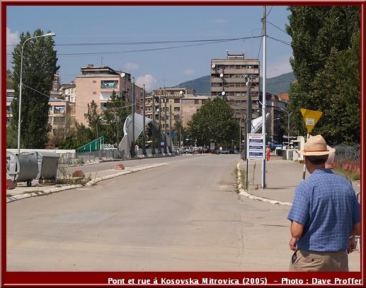 Mitrovica pont et rue