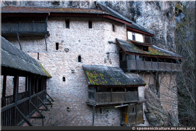 Monastere Crna Reka serbie