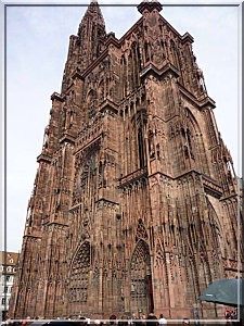 Strasbourg alsace cathedrale