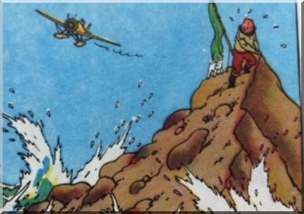 Tintin l'ile mysterieuse