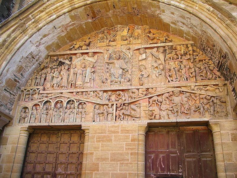 abbaye de sainte foy conques chapiteau