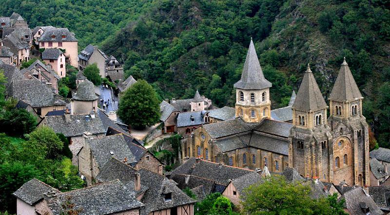 abbaye de sainte foy conques