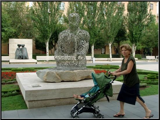 armenie erevan mere enfant