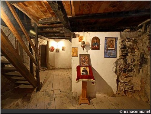 crna reka vie interieure du monastere