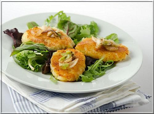 croquettes de pommes de terre cantal
