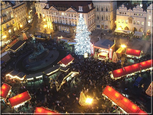 marche de noel Prague praha