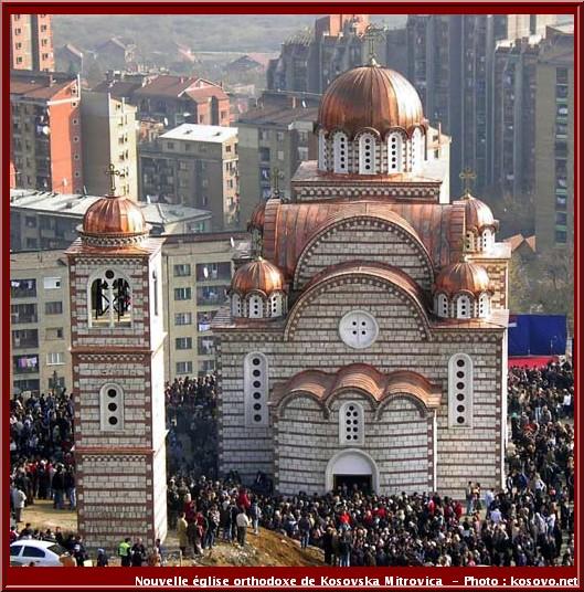 mitrovica eglise orthodoxe