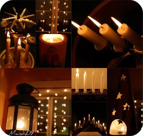 noel suede bougies