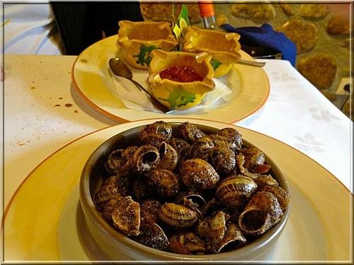 restaurant el Trull d'en Francesc escargots boadella d'emporda
