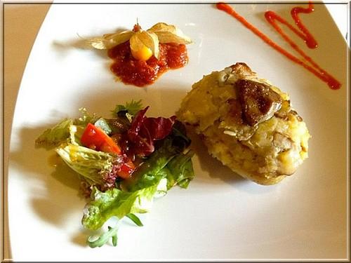 restaurant el Trull d'en Francesc plat boadella d'emporda