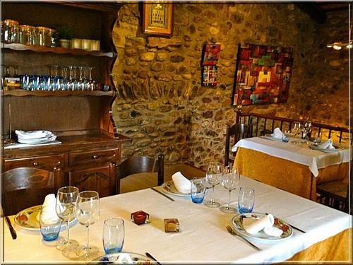 restaurant el Trull d'en Francesc salle boadella d'emporda