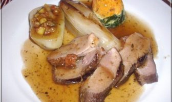 restaurant le charolais effeuillade de canard